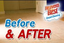 Before and After /  At Heaven's Best, our goal is to turn every customer into a lifetime customer. If you have floors or upholstery that are in need of a cleaning, give us a call. We'll make you happy you did! You can depend on a great job every time! 402-475-4747