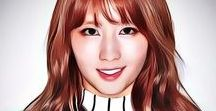 Twice Momo Art / kpop Twice Momo Art