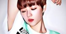 Twice Jungyeon Art