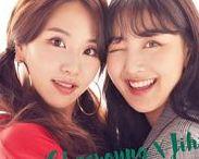 Twice Chaeyoung & Jihyo