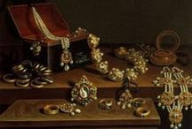 Pearl  Jewelry in Paintings