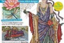 Cross Stitch Collection / Een borduurtijdschrift uit Groot Brittanie dat maandelijks verschijnt.
