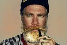 Pelo de Barba pelirroja