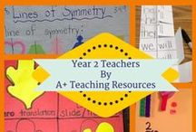 Year 2 Teachers by A Plus Teaching Resources / Great Resources for Busy Teachers / by A+ Teaching Resources
