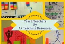 Year 3 Teachers by A Plus Teaching Resources / Teaching Resources linked to the Australian Curriculum,for busy teachers.