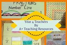 Year 4 Teachers by A Plus Teaching Resources / Great Australian Curriculum Linked Resources for busy teachers / by A+ Teaching Resources