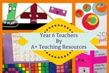 Year 6 Teachers by A Plus Teaching Resources / Australian Curriculum Linked Resources for Busy Teachers