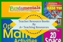 Really GREAT Resource Books for Teachers by A Plus Teaching Resources / A selection of  really Great Teacher Resource Books to help with planning , programming & lesson planning the Australian National Curriculum