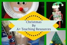 Christmas Craft Ideas for the Classroom by A Plus Teaching Resources / Fun festive craft activities for Christmas! Make an ornament for the classroom or a cute decoration to take home for a gift! So many great ideas for your kids to make!