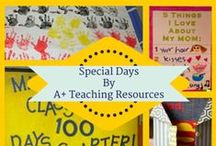 Special Days for Australian Schools by A Plus Teaching Resources / A collection of ideas for special days, celebrations, themes & commemorations in the Australian Calendar.
