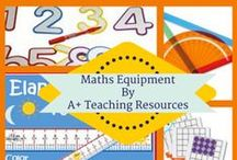 Maths Equipment for Your Classroom by A Plus Teaching Resources / A collection of maths equipment that no classroom should be without!