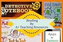 Reading by A Plus Teaching Resources / Reading Instruction ideas, activities, innovations and materials