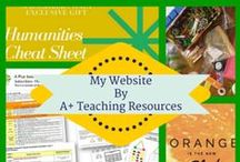 My Website - www.aplusteachingresources.com.au / Australian Curriculum Linked Blogs, Product News, Updates & Offers