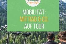 Fahrrad, E-Bike & Co. - Tipps, Infos und Produkte / Mit dem Rad ausgedehnte Touren unternehmen und sich abends vor dem Camper mit einem Gläschen Wein belohnen - was könnte es Schöneres geben?