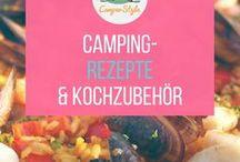 Camping-Rezepte und Kochausstattung / Auch beim Campen müssen es nicht immer Ravioli aus der Dose oder die Bratwurst vom Grill sein. Wir zeigen, mit welchen kreativen Ideen du leckere Gerichte zaubern kannst!