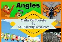 Maths on YouTube By A Plus Teaching Resources / Great clips for maths