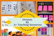 Division By A Plus Teaching Resources / Ideas, resources & activities for teaching division