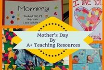 Mother's Day / Crafts, Gifts & Ideas for Children to make for Mother's Day