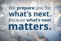SPC Inspires / We prepare you for what's next. Because what's next matters. #spcinspires