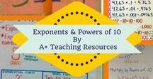 powers of ten / Ideas for Primary School Teachers- Exponents & Powers of ten