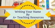 Name Activities - By A Plus Teaching Resources / Activities to help students learn their name