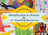 Multiplication & Division By A Plus Teaching Resources / Teaching ideas for rotations, math centres for multiplication & Division