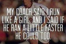 Run like a girl / by Kate Adams