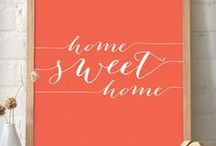 {home} / Home decor ideas and inspiration. Creative ways to decorate your home.