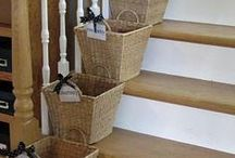 {home} organize / A collection of ideas to help you organize your home!