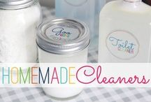 {diy} green mama / DIY pins for making your home as naturally green as possible