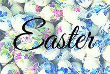 Easter / deviled eggs, easter eggs, easter cupcakes, egg salad, edible flowers, carrots, bunnies, easter recipes.  www.bigkitchen.com