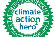 Climate Action Hero / Climate Action is a social enterprise which supports sustainable low-carbon living, and socially responsible consumer choices. This is achieved in two ways. We help fund renewable energy projects and carbon off-setting projects by offering carbon credits to individuals and businesses alike. We also use our strong voice on a broad range of social media outlets. Climate Action aims to mobilize our community to fight against climate change in order to provide a better environment for the future.