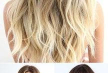 Hairstyles I like / Beautiful hair styles, hair care tips and hair inspiration