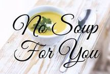 [NO] Soup For You / soup recipes, soups, le creuset, stew, chowders, chilis.  www.bigkitchen.com / by Big Kitchen