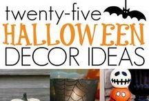 {celebrate} halloween / A board celebrating all things Halloween!