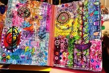 Art Journal Junkie / by Gabriella Dehod