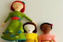 felt and fabric toys / by Lupe