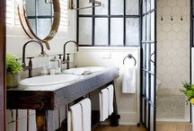 Home - Bathroom / Bathroom ideas. Some for my remodel. Some just because I like something about them. / by Brenda Kusan