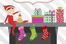 {celebrate} elf on the shelf / A board celebrating all about that little elf on the shelf!