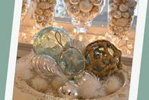 Coastal Christmas with 'Beach Cottage Life' Friends / Let's show the world how beautiful a Coastal Christmas can be! Seaside hues... Sand Dollars & Starfish... Nautical Holiday Chic! Join us on facebook for more Coastal Chic Inspiration: https://www.facebook.com/BeachCottageLifePhotography / by Beach Cottage Life