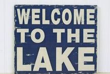 for the lakehouse / Weekend retreat at Smith Lake / by Michelle Tomlin