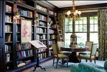 library; home office / by Michelle Tomlin