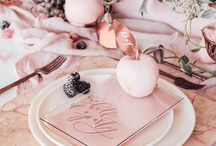 Tablescapes / A well dressed table. Perfect party table, table settings, wedding table settings. Entertaining at its best