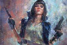 Artwork - Badass Women  / by Gina Grimm