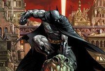 Artwork - Batman  / by Gina Grimm