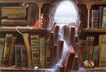 Artwork - Books/Library/Reading / by Gina Grimm