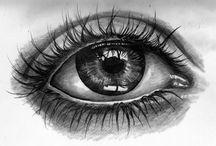 Artwork - Eyes / by Gina Grimm