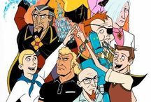 Artwork - Venture Brothers / by Gina Grimm