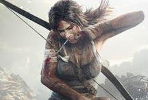 Artwork - Lara Croft / by Gina Grimm