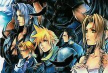Artwork - Final Fantasy  / by Gina Grimm